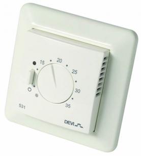 Терморегулятор для теплого пола Devi D-531 ELKO с датчиком воздуха