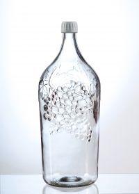 """Бутыль винная """"Виноград"""" 2 литра"""