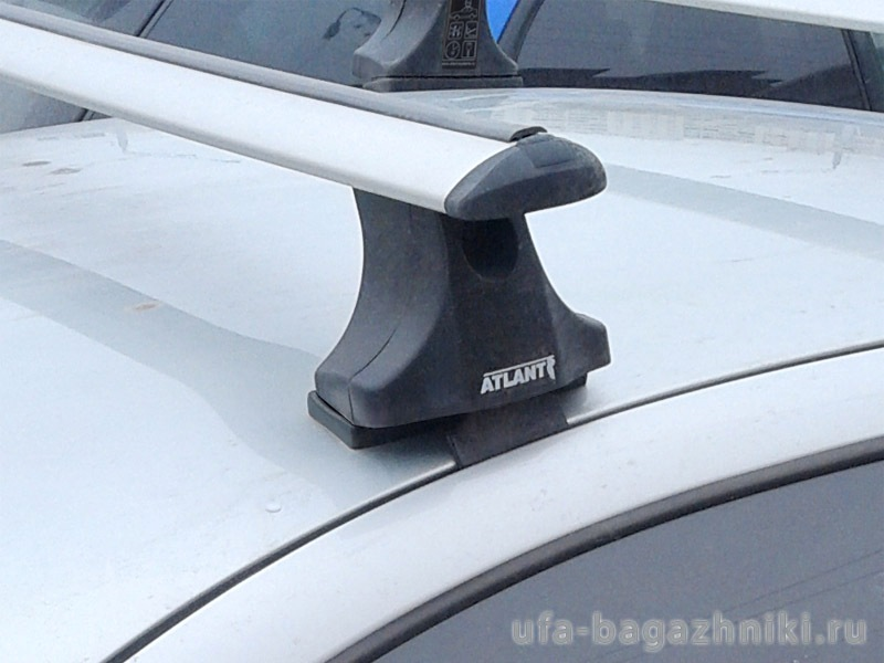 Багажник на крышу Nissan Maxima (2001-2005), Атлант, крыловидные дуги