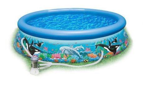 Надувной бассейн Intex Ocean Reef Easy Set Pool 28136 (54906) (366х76 см.)