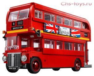 Конструктор Lari Create Лондонский автобус 10775 (10258) 1686 дет