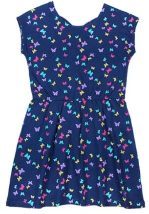 Платье для девочки Цветные бабочки
