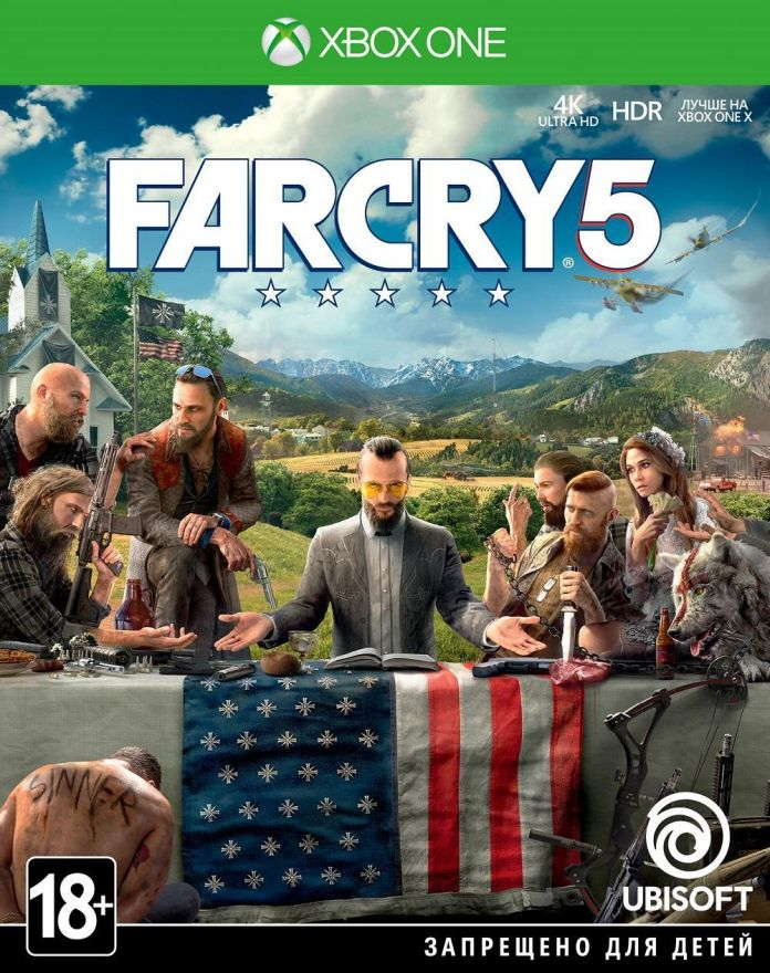 Игра Far Cry 5 (Xbox One)