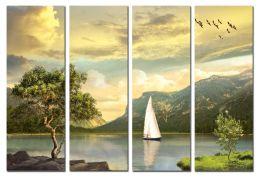 Парусник на озере