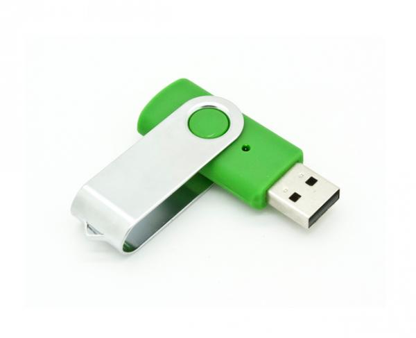4GB USB-флэш накопитель Apexto U201 раскладной зеленый OEM