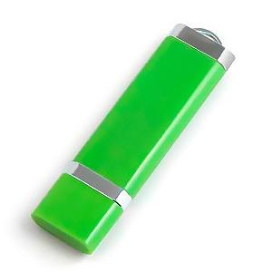 32GB USB-флэш корпус для флешки Apexto U206, Зеленый 356С