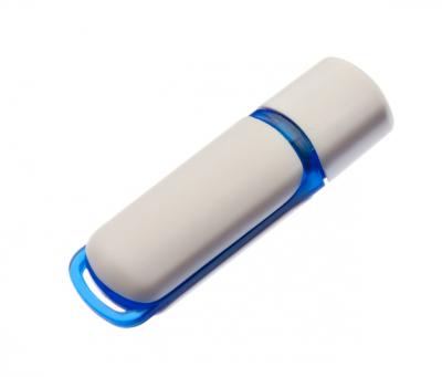 16GB USB3.0-флэш накопитель UsbSouvenir 235, белая-синяя