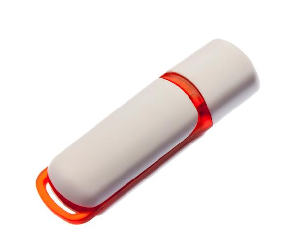 16GB USB3.0-флэш накопитель UsbSouvenir 235, белая-красная