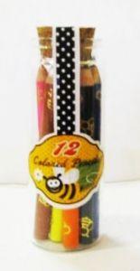 Набор 12 цветных карандашей Пчелки
