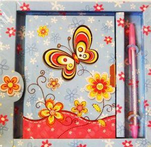 Набор Бабочки (блокнот и ручка)