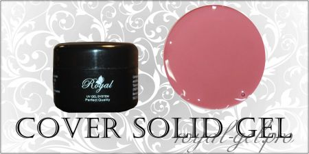 COVER SOLID  ROYAL GEL 250 гр