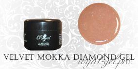 VELVET MOKKA DIAMOND  ROYAL GEL 50 мл