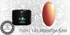 КР01 Royal PREMIUM гель краска 5 мл.