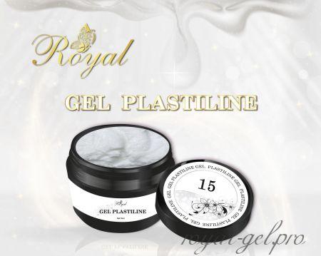 PL15 Royal гель пластилин (перламутр) 5 мл.