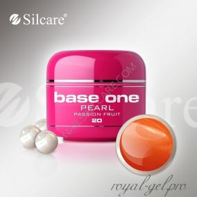 Цветной гель Silcare Base One Pearl Passion Fruit *20 5 гр.