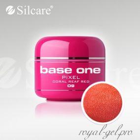 Цветной гель Silcare Base One Pixel Orange Fure *08 5 гр.
