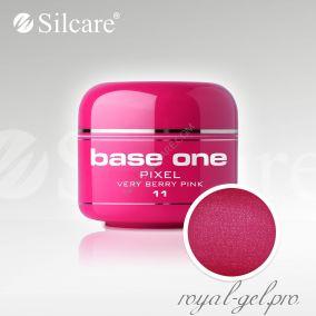 Цветной гель Silcare Base One Pixel Very Berry Pink *11 5 гр.