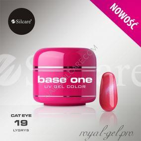 Цветной гель Silcare Base One Cat Eye Lygys *19 5 гр.