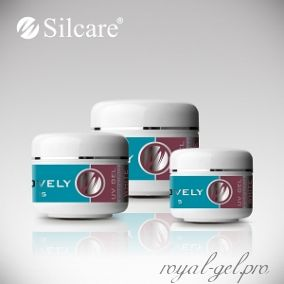 Gel Lovely French White Silcare 30 гр