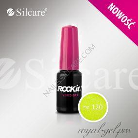 Гель лак Silcare Rock`IT 8 гр color 120