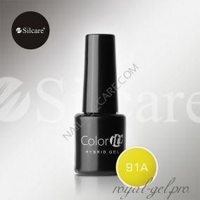Гель лак Silcare Hybryd Color`IT 8 гр №091А