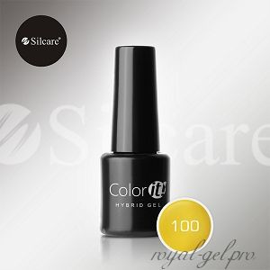 Гель лак Silcare Hybryd Color`IT 8 гр №100