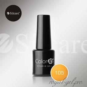 Гель лак Silcare Hybryd Color`IT 8 гр №105