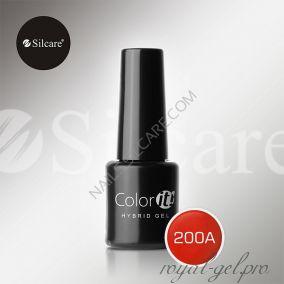 Гель лак Silcare Hybryd Color`IT 8 гр №200А