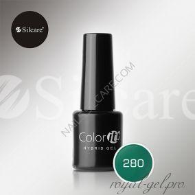 Гель лак Silcare Hybryd Color`IT 8 гр №280