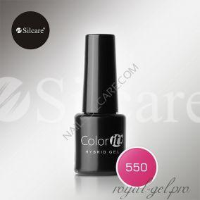 Гель лак Silcare Hybryd Color`IT 8 гр №550
