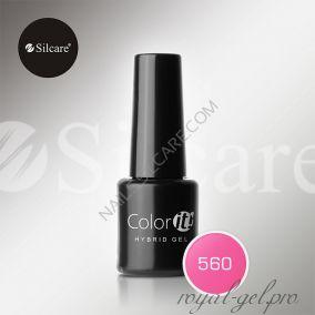 Гель лак Silcare Hybryd Color`IT 8 гр №560