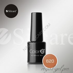 Гель лак Silcare Hybryd Color`IT 8 гр №620