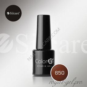 Гель лак Silcare Hybryd Color`IT 8 гр №650