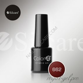 Гель лак Silcare Hybryd Color`IT 8 гр №662