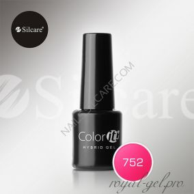 Гель лак Silcare Hybryd Color`IT 8 гр №752