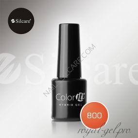 Гель лак Silcare Hybryd Color`IT 8 гр №800
