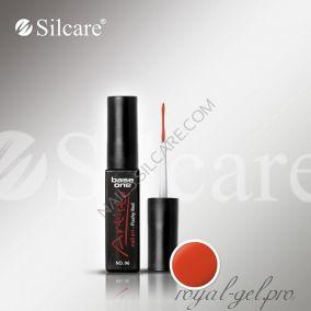 АРТ гель лак Silcare Base One Artisto Nail Art Flashy Red *06 10 гр