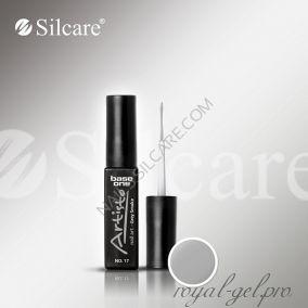 АРТ гель лак Silcare Base One Artisto Nail Art Grey Smoke *17 10гр