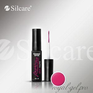 АРТ гель лак Silcare Base One Artisto Nail Art Deep Pink *20 10 гр