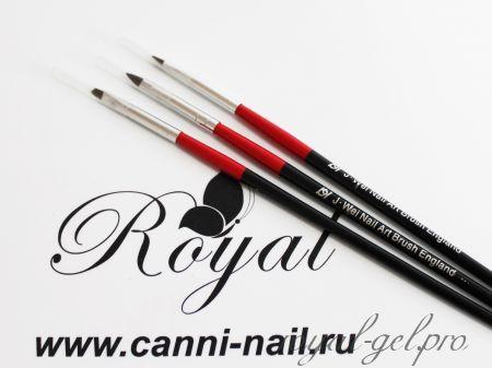 Набор кистей для Nail ART 3 штуки
