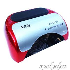 48W гибридная лампа (цвет красный)