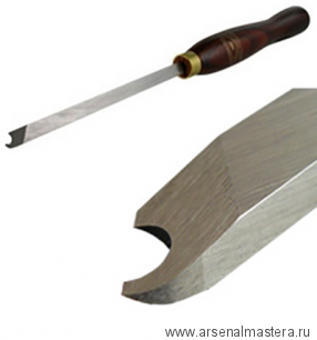 Резец токарный Crown HSS Captive Ring Tool 10мм, рукоять 216мм, для изготовления цельных колец толщиной 7 мм на заготовке М00003813