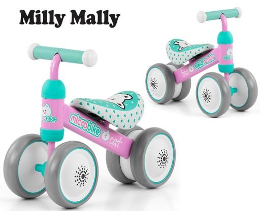 Беговел Milly Mally Micro