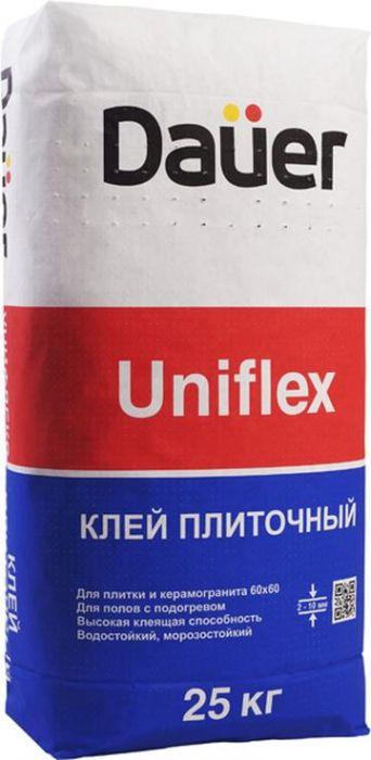 Клей плиточный усиленный Dauer Uniflex 25 кг