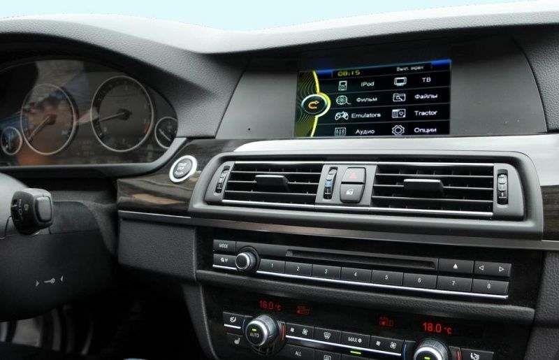 Штатная магнитола BMW 5