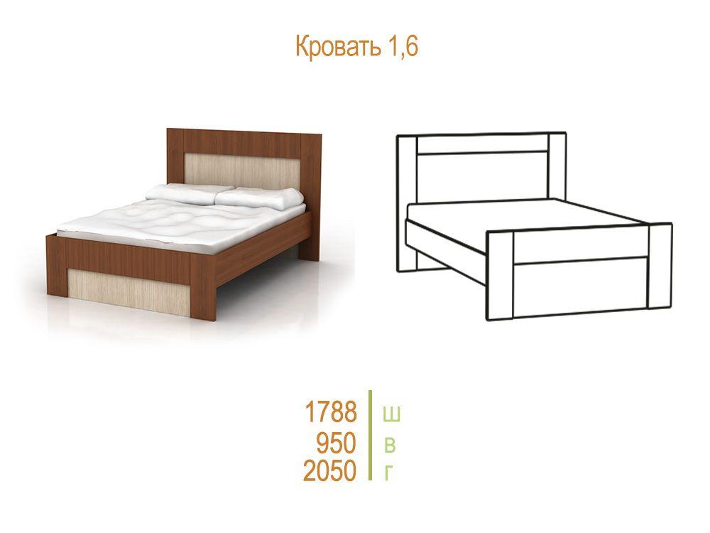 Комфорт-1 Кровать  с ортопедическим основанием