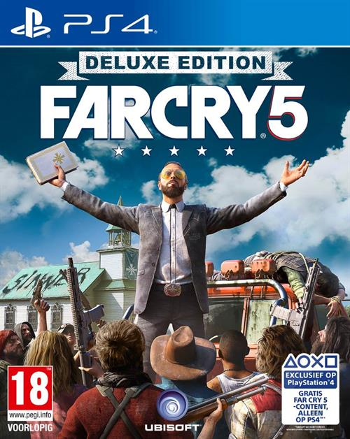 Игра Far Cry 5 Delux Edition (PS4)