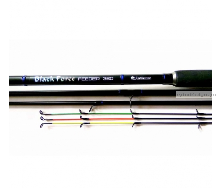 Фидерное удилище Mottomo Black Force Feeder 3,60м / 90 - 150гр
