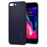 Чехол Spigen Liquid Air Armor для iPhone 8 Plus синий