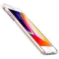 Чехол Spigen Liquid Crystal для iPhone 8 Plus кристально-прозрачный